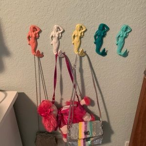 Other - Mermaid cast iron wall hooks- bundle to save